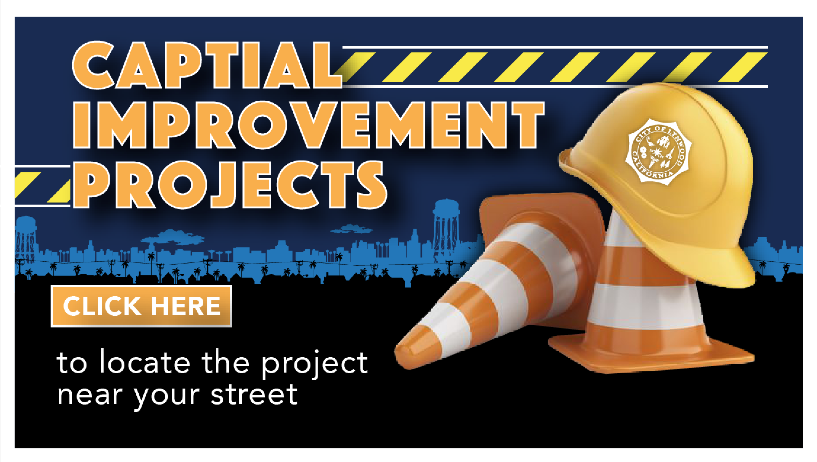 Capital Improvement Projects Button