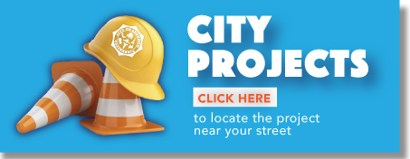 CITY PROJECTS BUTTON