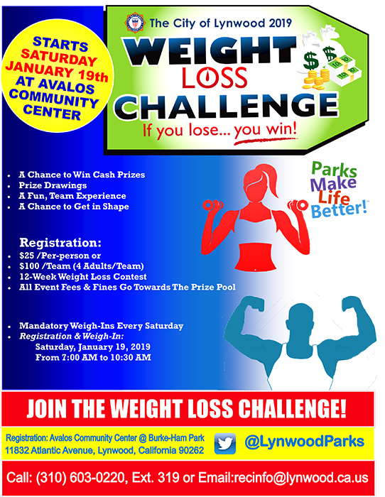 Weight Loss Challenge 2019