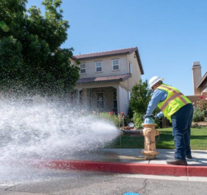 Water Flushing in Lynwood