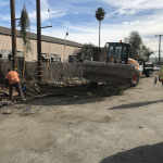 Public Works Cleaning Alleys