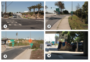 Which photo is a Lynwood on/off ramp?