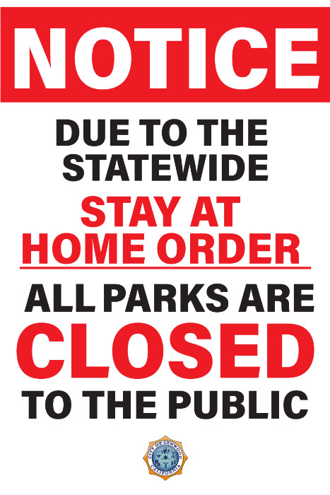 All parks closed