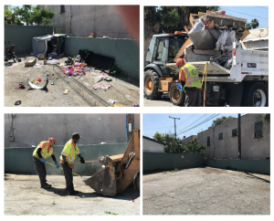 Lynwood Public Works Just Cleaned Your Alley