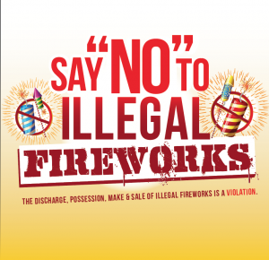 MOST FIREWORKS IN LYNWOOD ARE ILLEGAL---FINES ARE BEING ISSUED