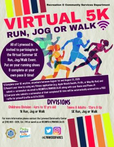 Virtual Run Jog or Walk