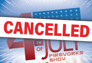 July 4 Celebration Cancelled
