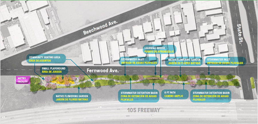 The Fernwood Avenue Park Infiltration Project