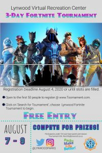 3Day Fortnite Tournament