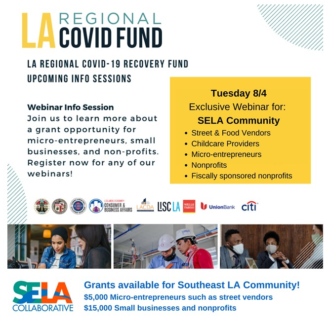 Lynwood Businesses: Learn about the LA Regional COVID Fund