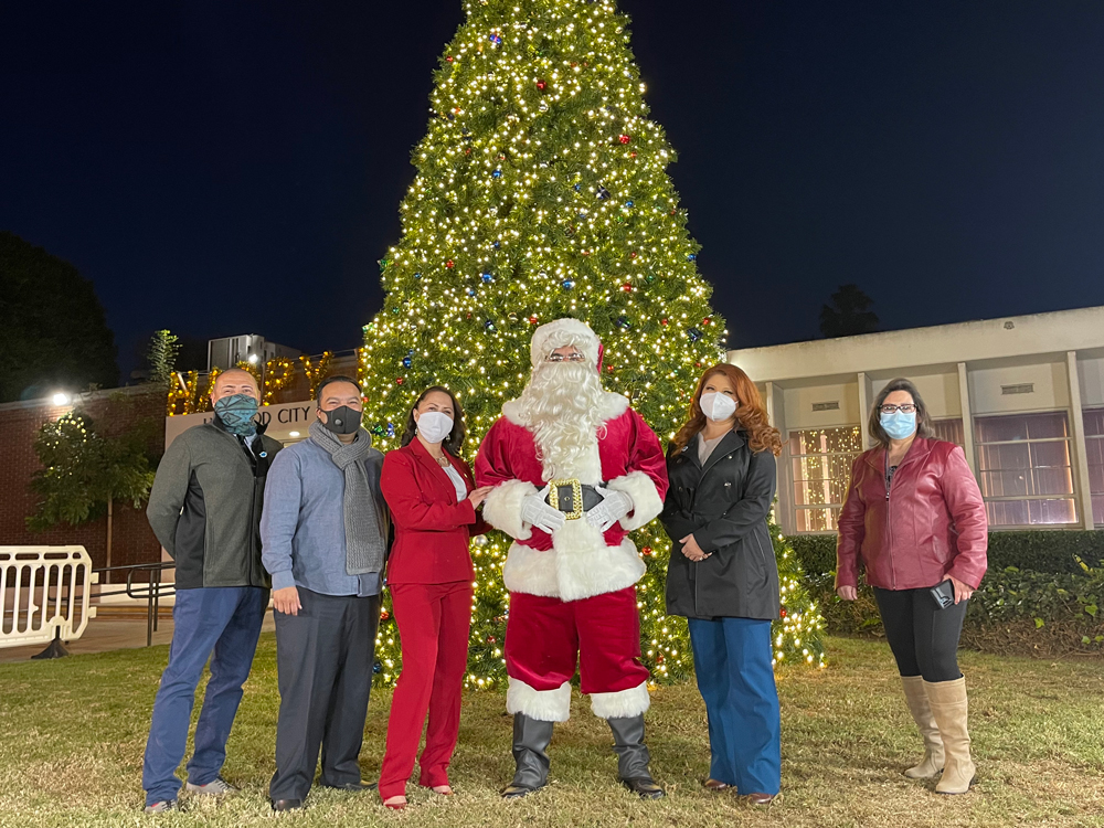 New City Council at The Virtual Tree Lighting
