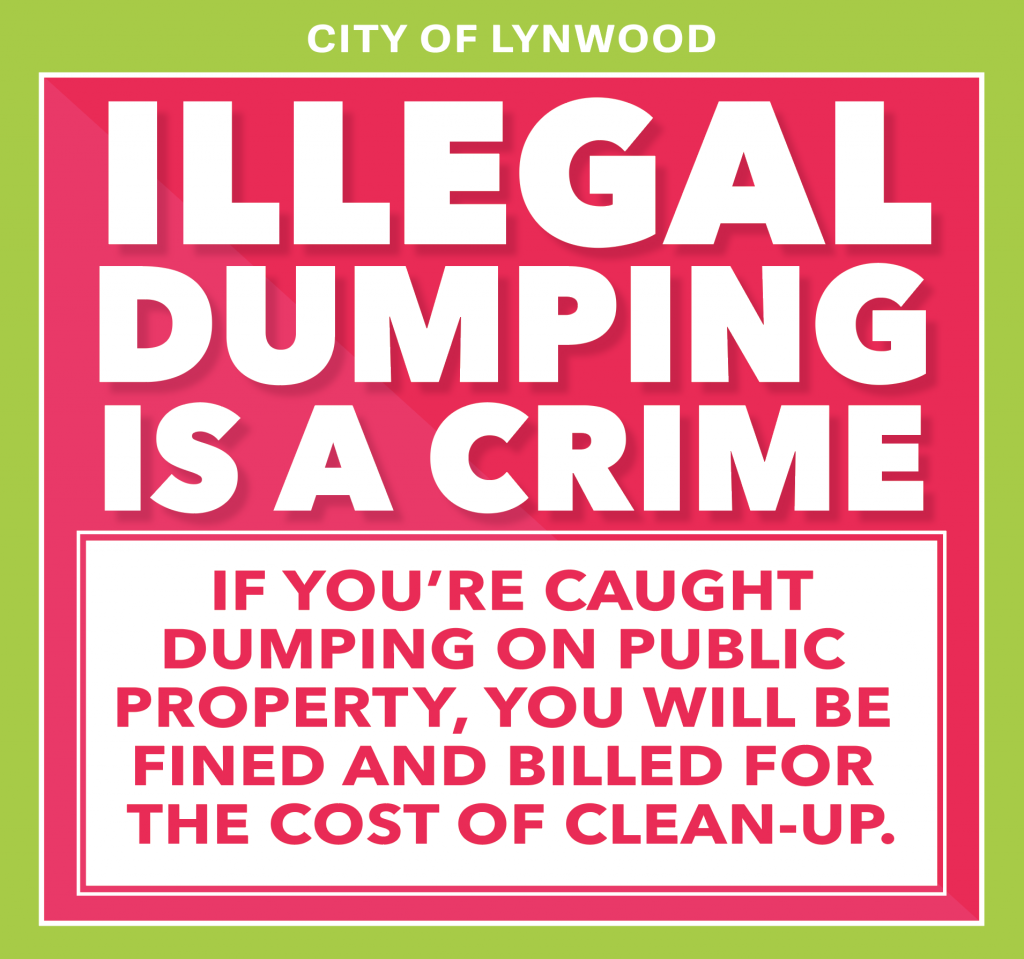 Illegal Dumping Is A crime