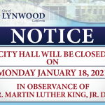 City Hall Closure