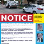 Notice Street Sweeping