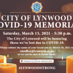 COVID-19-Memorial-Saturday, March13 at 5:30pm