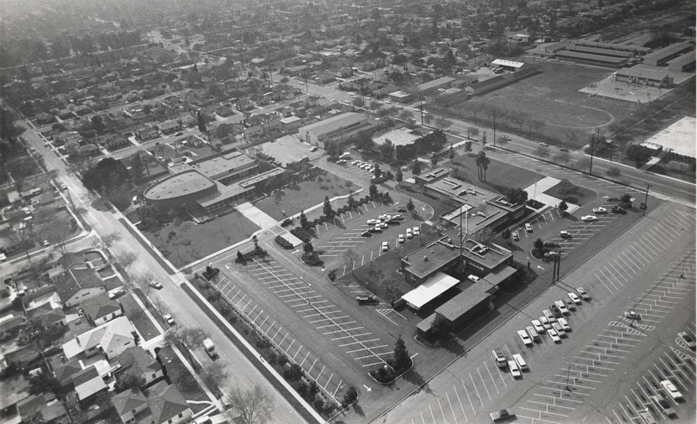 Aerial Photo of the Lynwood Civic Center